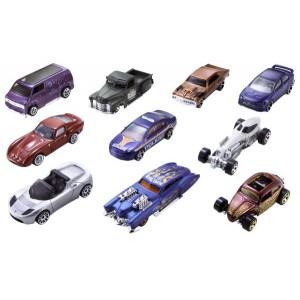Hot Wheels autod 10-pakk