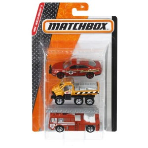 Matchbox 3-pakk
