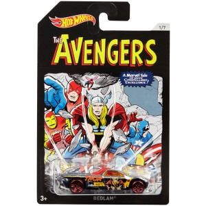 Hot Wheels Avengers 3 teema auto