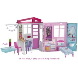 Barbie kaasaskantav maja