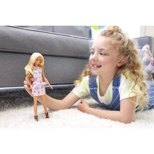 Barbie Fashionistas nukk - Roosa kleit ja saapad