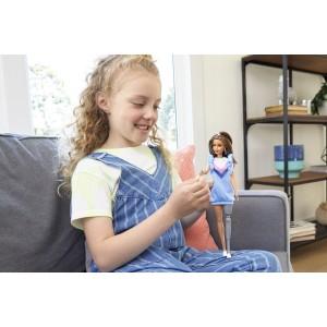 Barbie Fashionistas nukk - sinine satsikleit