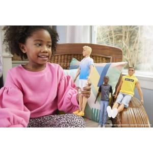 Barbie Fashionistas Ken sinise särgiga