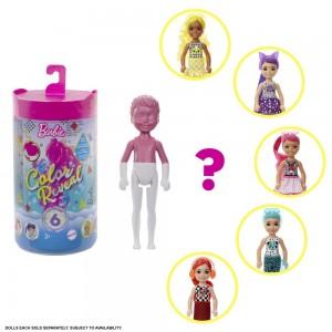 Barbie Color Reval Chelsea merineitsi värviüllatusnukk