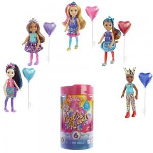 Barbie® Chelsea Color Reveal peoteemalised värviüllatusnukud