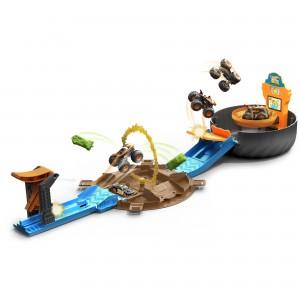 Hot Wheels Monster Truck Trikirehvi mängukomplekt
