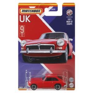 Matchbox ™ UK teemalised sõidukid