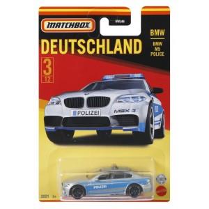 Matchbox ™ Saksa teemalised sõidukid