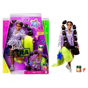 Barbie® Extra nukk - Pigtails with Bobble Hair Ties
