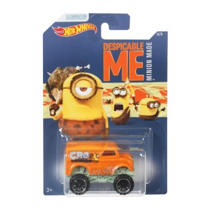 Hot Wheels Minions teemaauto