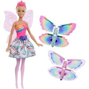 Barbie lendlevate tiibadega haldjas