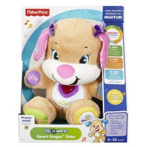 Fisher-Price L&L Smart Stages eestikeelne kutsutüdruk