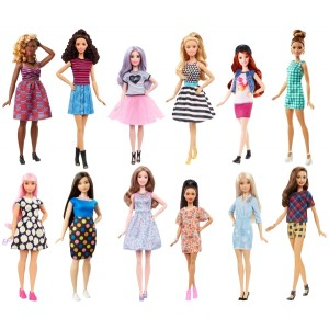 Barbie™ Fashionistas nukk
