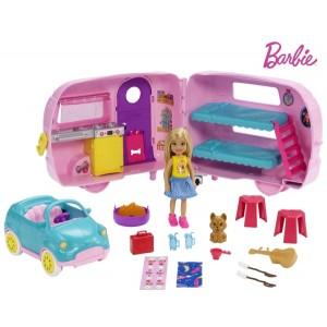 Barbie Chelsea matkakomplekt
