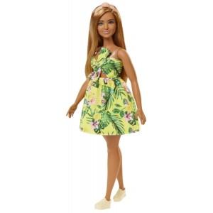 Barbie Fashionistas nukk- kollane kleit