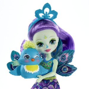 Enchantimals nukk Patter Peacock
