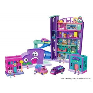 Polly Pocket™ Pollyville Stores Asst.
