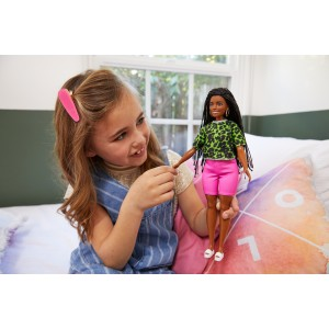 Barbie Fashionistas nukk leopardi särgiga